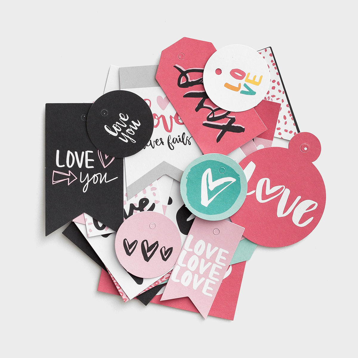Illustrated Faith - You Are Loved - Gift Tags, Set of 18