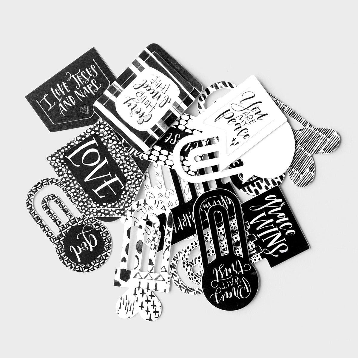 Illustrated Faith - Faith>Fear - 16-Piece Designer Clips