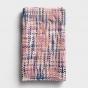Woven Threads Infinity Scarf - Pink
