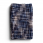 Woven Threads Infinity Scarf - Blue