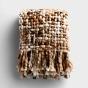 Woven Throw Blanket - Cream