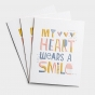 Thinking of You - My Heart - 3 Premium Studio 71 Cards