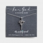 For God So Loved the World - Sterling Silver Pendant Necklace