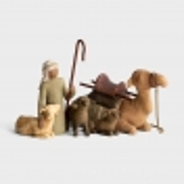 Awe and Wonder - Willow Tree Nativity - Shepherd & Stable Animals
