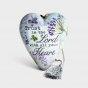 Trust in the Lord - Art Heart Sculpture