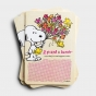 Get Well - Peanuts - Picked A Bunch - 6 Premium Cards