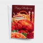 The Thanksgiving dinner on the cover and an inspiring message inside make these 'Happy Thanksgiving' inspirational note cards perfect for letting special people know you're thinking of them at Thanksgiving.