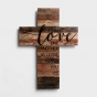 Love One Another - Wooden Cross