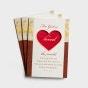 Valentine's Day - For God So Loved - 3 Premium Cards, KJV