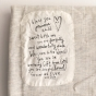 Bless You - Baby Blanket