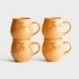 Faith - Stoneware Mugs, Set of 4