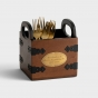 Give Thanks - Wooden Caddy