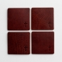Cross - Ultra Leather Coaster - Set of Four