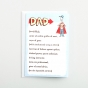 Father's Day - Dad - 1 Premium Card