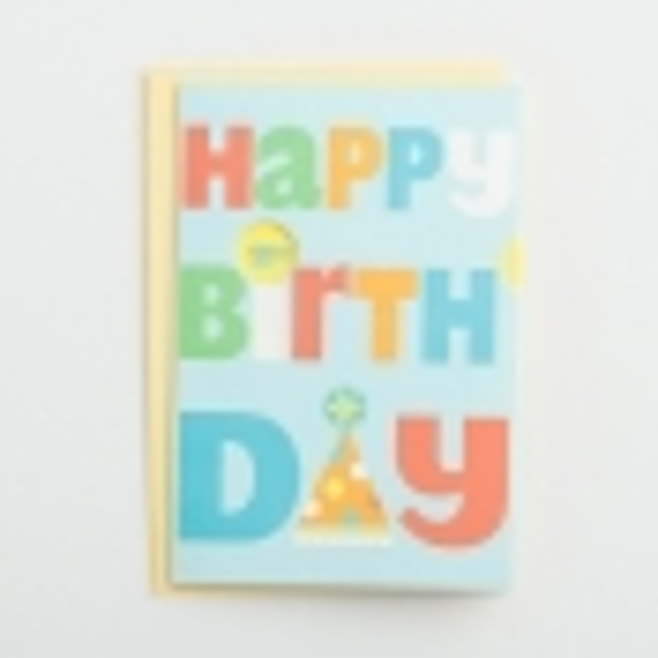 Birthday - Child - Happy Birthday - 1 Premium Card