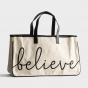 Believe - Canvas Tote Bag