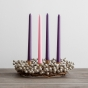Advent Wreath with Berries
