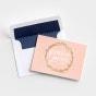 Studio 71 - 8 Premium Embellished Note Cards - Blank