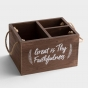 Great Is Thy Faithfulness - Utensil and Desk Organizer Caddy