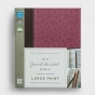 NIV Journal the Word Bible - Large Print, Orchid