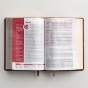NIV Life Application Study Bible, Third Edition - Brown Leathersoft