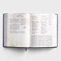 CSB Tony Evans Study Bible - Purple LeatherTouch