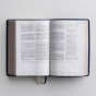 CSB (in)courage Devotional Bible - Navy Genuine Leather