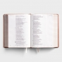 CSB She Reads Truth Bible - Rose Gold LeatherTouch