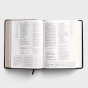 CSB Tony Evans Study Bible -Black/Brown LeatherTouch