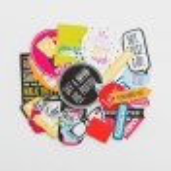 Illustrated Faith - Pop Culture - 31-Piece Die Cut Prompts