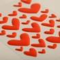 Illustrated Faith - Apple of My Eye - 35-Piece Enamel Heart Stickers