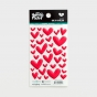 Illustrated Faith - One in a Melon - 35-Piece Enamel Heart Stickers
