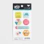 Illustrated Faith - Seeds of Faith - 7-Piece Epoxy Stickers