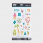Illustrated Faith - Delight in His Day - 22-Piece Puffy Stickers