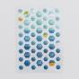 Illustrated Faith - Mrs. Blueberry Mix - 53-Piece Mini Hexie Stickers