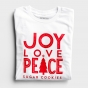 Candace Cameron Bure - Joy Love Peace - Relaxed Fit Long Sleeve T-Shirt
