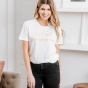 Candace Cameron Bure - God Loves You - Relaxed Fit T-Shirt