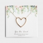 You Are Loved - Gold Plated Heart Necklace