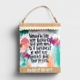Katygirl - Words Of The Week - Framed Tabletop and Wall Decor - Includes 26 Inspirational Prints
