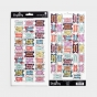 Ditzy Floral - Books of the Bible Tabs