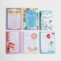 Greeting Card Organizer Box with Dividers and 24 Assorted Cards