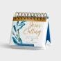 Jesus Calling: Enjoying Peace in His Presence - Large Print - Perpetual Calendar