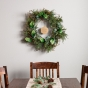 Candace Cameron Bure - Geometric Wreath with Medallion Messages - Gold