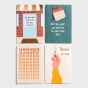 The Struggle Bus - Everyday Empathy - 8 Card Assortment Pack