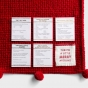 Candace Cameron Bure - Merry - Christmas Throw with Trivia Cards and Conversation Starters