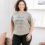 Candace Cameron Bure - Jesus Is The Life - Relaxed Fit T-Shirt