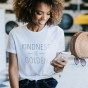 Candace Cameron Bure - Kindness Is Golden - Women's Fitted T-Shirt