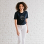 Candace Cameron Bure - Love Over All - Relaxed Fit T-Shirt - Navy