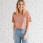 Candace Cameron Bure - Love Over All - Relaxed Fit T-Shirt - Dusty Pink
