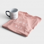Love Over All - Mug and Dusty Pink T-Shirt - Gift Set